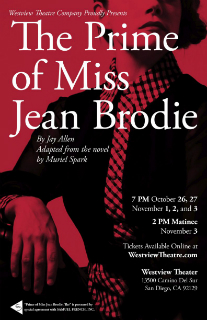 The Prime of Miss Jean Brodie poster art